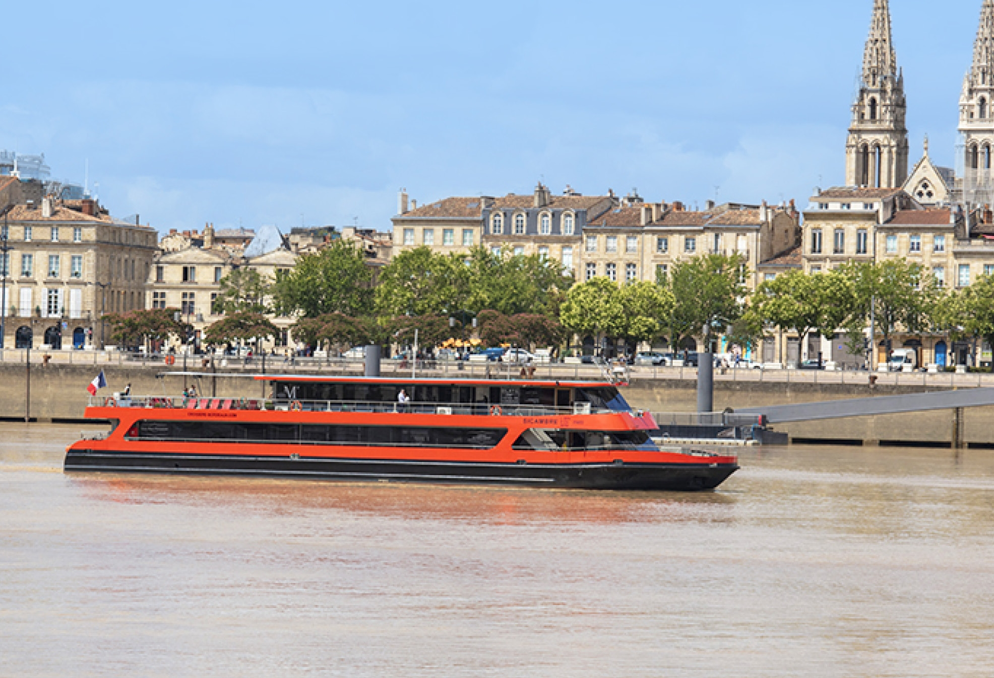 Bordeaux lunch cruise gift box